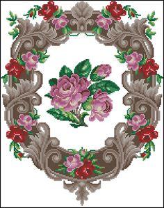 rose wreath chart  1