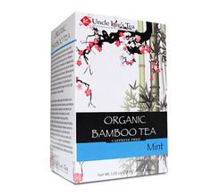 Uncle Lees Tea Organic Tea Bamboo Mint (1x18 Tea Bags)