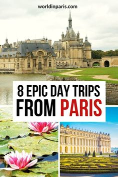 Looking for the best day trips from Paris? Here are 8 best places to visit for 1 day trip from Paris, no matter what you're into, and our best tips to get the most out of these places. #paris #france Paris France Travel, Paris Travel Guide, Travel Guides, European Travel Tips, European Destination, Paris Things To Do, Day Trip From Paris, France Photography, Visit France