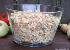Sałatka z pomidorów na zimę - Obżarciuch Snack Recipes, Snacks, Potato Salad, Oatmeal, Grains, Salads, Rice, Potatoes, Vegetables