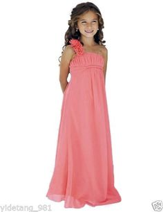 8698549816f2a New Lace Tulle Toddler Flower Girl Dress Party Pageant Dress With Sash hot  Party Dress