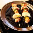 2-Pack: Non-Stick Stovetop Barbecue Grill with Iron Plate