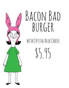 Etsy listing at https://www.etsy.com/listing/167149440/bobs-burger-louise-belcherwalter-white