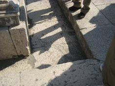 Evidence of Pompeii's sophisticated drainage system: streets would drain in minutes, & water was re-used. #archaeology #Pompeii