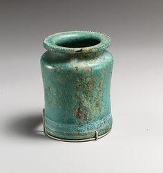 Bronze kyathos (ladle), Etruscan, Classical period, circa 450-400 BC