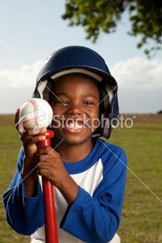 Baseball Kid Royalty Free Stock Photo