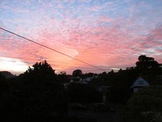 sunset clouds from my house xD
