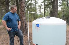 Simple Low-Budget, Off-Grid, Gravity-Fed, Water System (With Video). From MOTHER EARTH NEWS Blog