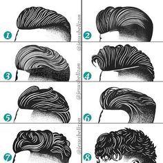 Hairstyles For Men (Undercut) | By Jesús Belizón [Drawing - Fashion - Long Top - Short Sides] Long Undercut Men, Undercut Beard, Undercut Styles, Pompadour Hairstyle For Men, Pomade Hairstyle Men, Undercut Hairstyles, Hairstyles Haircuts, Braided Hairstyles, Men's Hair Short