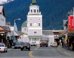 Sitka, Alaska. I was baptized in the original Russian orthodox church. The original church burned down in the 1960's.