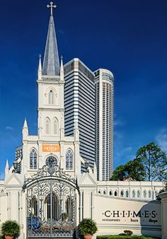 CHIJMES Singapore was first established in 1854. It features fine dinning, bars and entertainment.