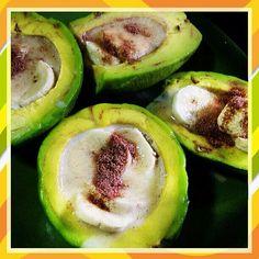 Avocado con banana