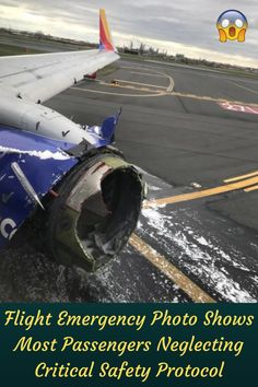If you've ever flown, you've seen a flight attendant give a safety demonstration before takeoff showing how to deal with various emergencies that may arise during flight.