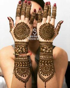 New Ideas Arabian Bridal Henna Mehndi Designs Wedding Henna Designs, Indian Mehndi Designs, Latest Bridal Mehndi Designs, Mehndi Designs 2018, Henna Art Designs, Mehndi Designs For Girls, Hena Designs, Tattoo Designs, Latest Mehndi
