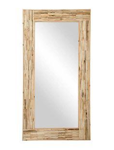 GRAND MIROIR EN BOIS | KOTECAZ  #entrée #miroir #maisonentrée #déco Palette, Decoration, Mirrors, Oversized Mirror, House, Inspiration, Furniture, Home Decor, Wood Furniture