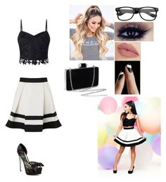 """""""Focus"""" by kayla3222 on Polyvore featuring Lipsy, Betsey Johnson and NYX"""