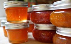 Best rhubarb recipes, rhubarb jam, rhubarb soup, rhubarb muffins, and more. Rhubarb trivia from The Old Farmer& Almanac. Best Rhubarb Recipes, Jam Recipes, Canning Recipes, Canning Tips, Chutney Recipes, Blueberry Rhubarb Jam, Rhubarb Muffins, Strawberry Jam, Prize Winning Recipe