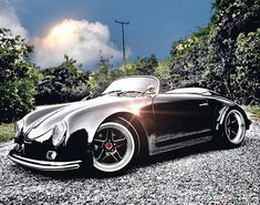 To the love of all things Porsche My Dream Car, Dream Cars, Porsche 356 Speedster, Porsche Roadster, Karts, Vw T, Vintage Porsche, Vintage Cars, Porsche Cars