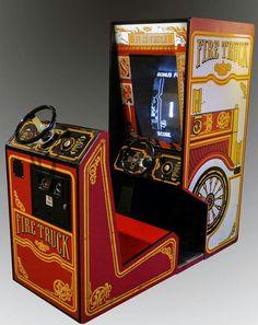 Fire Truck arcade game