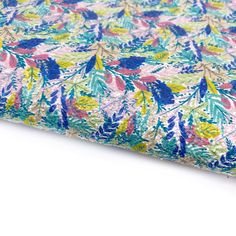 Jungle Floral Hideaway Chunky Glitter Fabric Sheets Glitter Fabric, All Design, Craft Supplies, Bows, Colours, A4, Floral, Projects, Prints