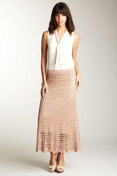 Crochet Skirt No pattern, for sale at Norstroms.