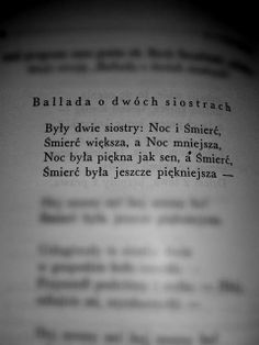 ballada o 2 siostrach Sad Quotes, Book Quotes, Life Quotes, Inspirational Quotes, Reading Quotes, Book Worms, Quotations, Texts, Funny Memes