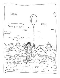 Back Rooms of My Mind Door #28811  Billy loves balloons.  Prints available: http://fineartamerica.com/featured/back-rooms-of-my-mind-door-28811-michael-mooney.html?newartwork=true