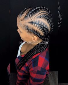 Lasts up to 4 weeks. Completed in 2 hours! Big Box Braids Hairstyles, Twist Braid Hairstyles, Braided Hairstyles For Black Women, Dope Hairstyles, My Hairstyle, Creative Hairstyles, Black Hairstyles, Hairstyle Ideas, 4 Feed In Braids
