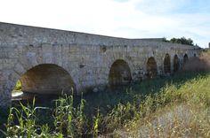 Roman bridge of Turris Libisonis, Porto Torres, (Photo taken in Sardinia by Carole Raddato)