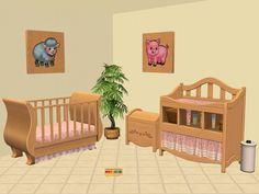 "Mod The Sims - ""C Stroke"" Wood Art Recolours"