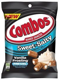 Opposites attract with the new sweet and salty flavor combinations from COMBOS Brand: COMBOS Baked Snacks Caramel Crème Pretzel and COMBOS Baked Snacks Vanilla Frosting Pretzel. Pretzel Snacks, No Bake Snacks, Combos Snacks, Mars Chocolate, Food Recalls, Vanilla Frosting, Chocolate Frosting, Seasonal Food, Sweet And Salty