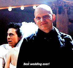 victor best wedding ever Anthony carrigan Gotham Series, Gotham Cast, Gotham Tv, Gotham Batman, Tv Series, Anthony Carrigan, Victor Zsasz, Gotham Villains, Movies