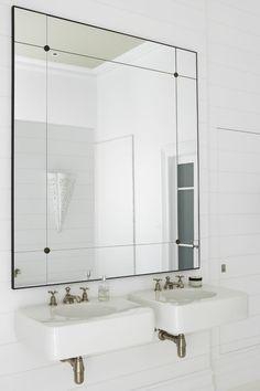 Justine Hugh-Jones Design | Bathroom Mirror | PHOTO Nicky Ryan | Est Magazine