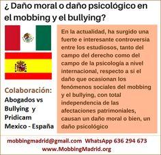 Mobbing Madrid PRIDICAM: ¿ Daño moral o daño psicológico en el mobbing y el...