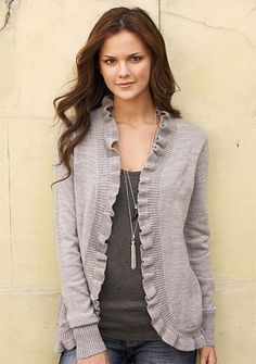 Cardigans can be seen on both boys and girls this season and it's prefect for dressing up or dressing down any look.