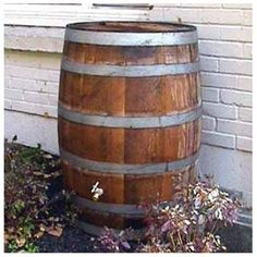 Rain Barrel 27W x 35H 1 of 1, $158 + shipping (15% back)