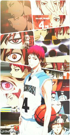 Kagami Vs Aomine, Kise Kuroko, Akashi Seijuro, Kuroko No Basket Characters, Anime Characters, Anime Love, Anime Guys, Manga Art, Anime Art