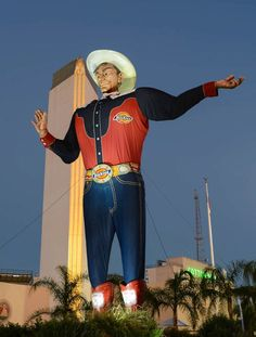 'State Fair of Texas president Errol McKoy wants fairgoers to know that we appreciate your kind words and messages. He promises that Big Tex will be back in 2013 bigger and better.' (State Fair of Texas/Facebook)   #bigtexfire