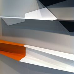 bent shelves