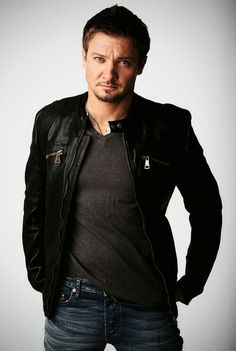 "Jeremy Renner. Reportedly Hawkeye has a bigger storyline in the upcoming ""Avengers: Age of Ultron""!"