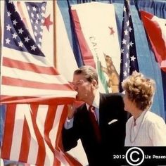 kissing the flag...somehow, I don't think Reagan would even consider making an apology - to anyone - for America. As it should be. The President is our Commander in Chief; he's supposed to he our greatest defender, against all that would come against us. He is supposed to be our great unifier...rallying the People in times of crisis. Standing as a beacon of light, and strength. For ALL Americans...not just those who agree with him. Defending our rights, and insuring our future.