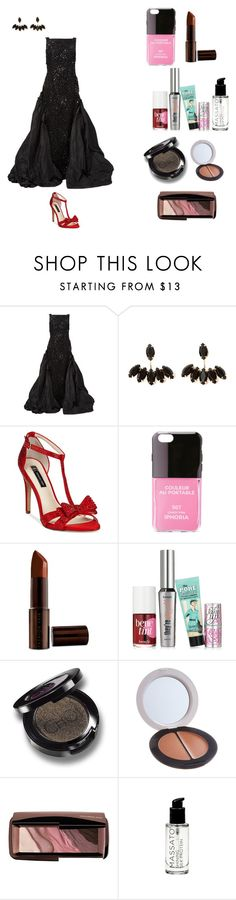 """""""2016 Kids' Choice Awards Red Carpet"""" by clay263659 ❤ liked on Polyvore featuring мода, Oscar de la Renta, INC International Concepts, Iphoria, Fashion Fair, Benefit и Hourglass Cosmetics"""