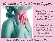 Roller Ball Blend  Thyroid Support  Essential Oils