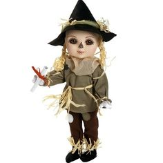"Marie Osmond Doll Adora Belle - Scarecrow, The Wizard Of Oz, 12"" Porcelain by Marie Osmond, http://www.amazon.com/dp/B008OOU0UO/ref=cm_sw_r_pi_dp_uy4hsb12K262J"