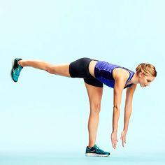 Cross-Training Exercises for Runners: Row-Dead Lift Combo