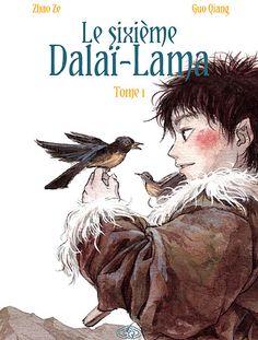 Le sixième Dalaï-Lama, tome 1 Guo Qiang et Zhao Ze Dalai Lama, Character Design References, Character Art, Creature Concept Art, Bd Comics, Sketchbook Inspiration, Sacred Art, Illustrations, Cartoon Art