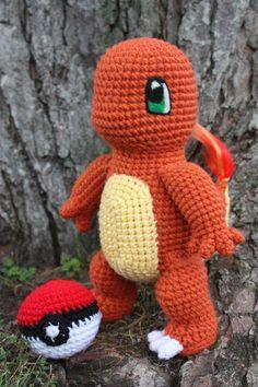 Из этой статьи вы узнаете, как связать покемона Чармандера крючком. Схема и описание вязаной игрушки прилагаются!