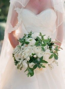 bridal bouquet - neutrals