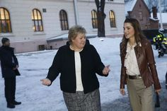 Queen Rania meets with Norway's Sovereign and Crown Prince Couple