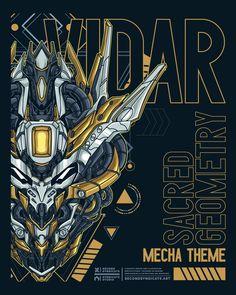 Second Syndicate on Behance Arte Gundam, Gundam Art, Gundam Head, Gundam Wallpapers, Mecha Anime, Super Robot, Cyberpunk Art, Sketch Inspiration, Gundam Model